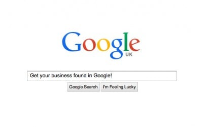 Google Search Results for Business