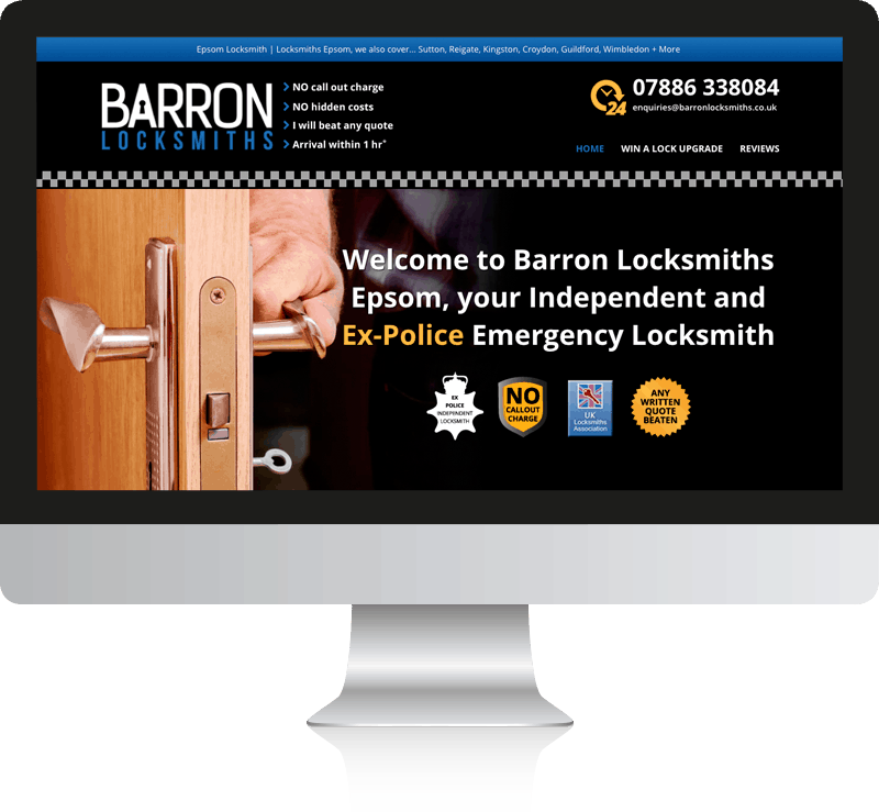 Locksmiths Web Design