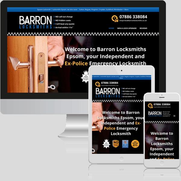 Example of Tradesmen Web Design