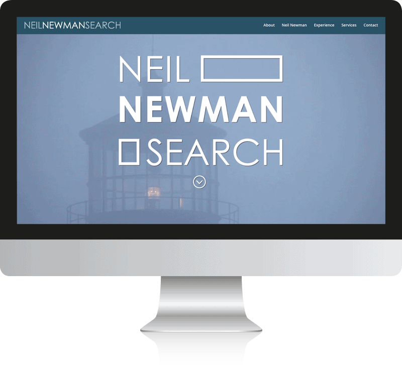 Recruitment Agency Web Design For Neil Newman Search