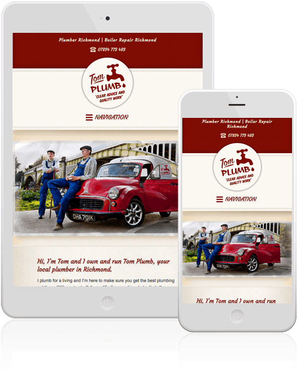 Tom Plumb Responsive Web Design