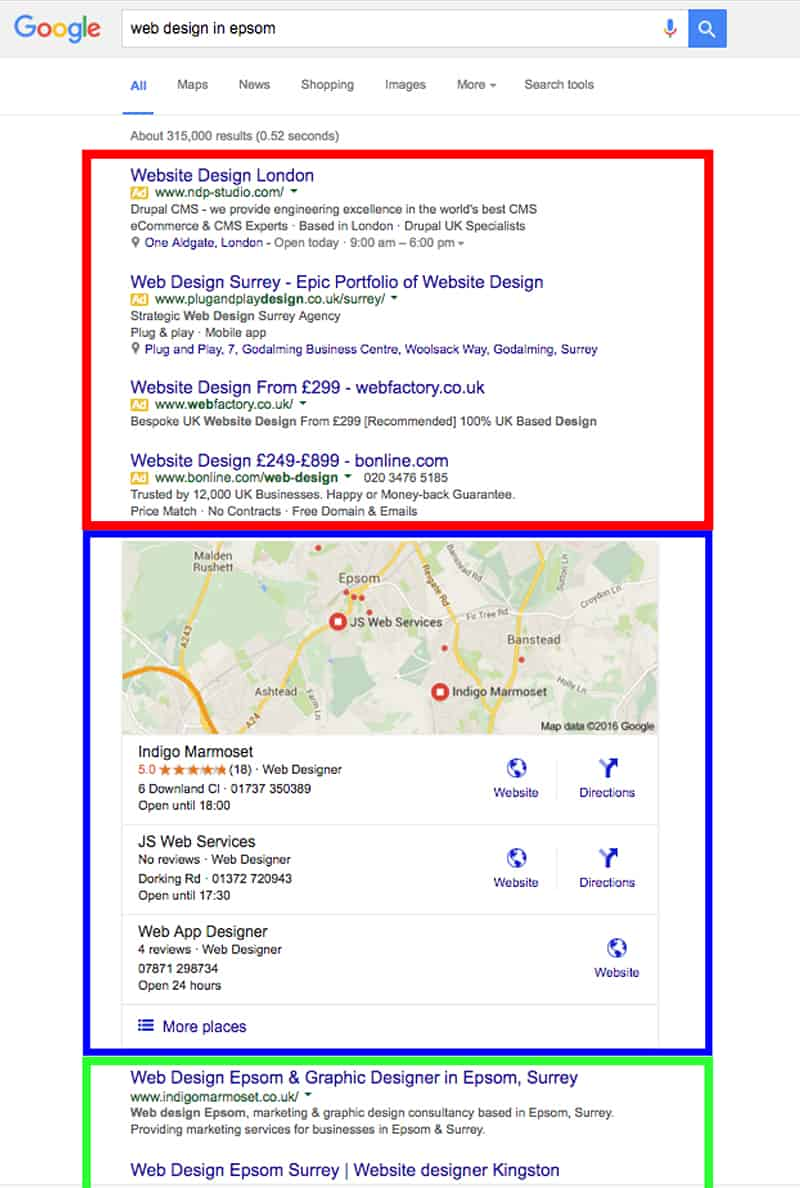 web design epsom search results 120416