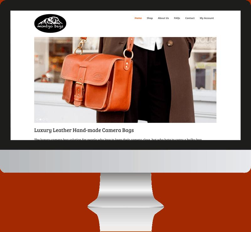 Montgo Bags Web Design