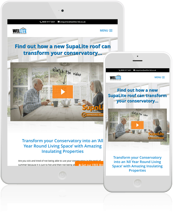 Wellite Conservatory Web Design