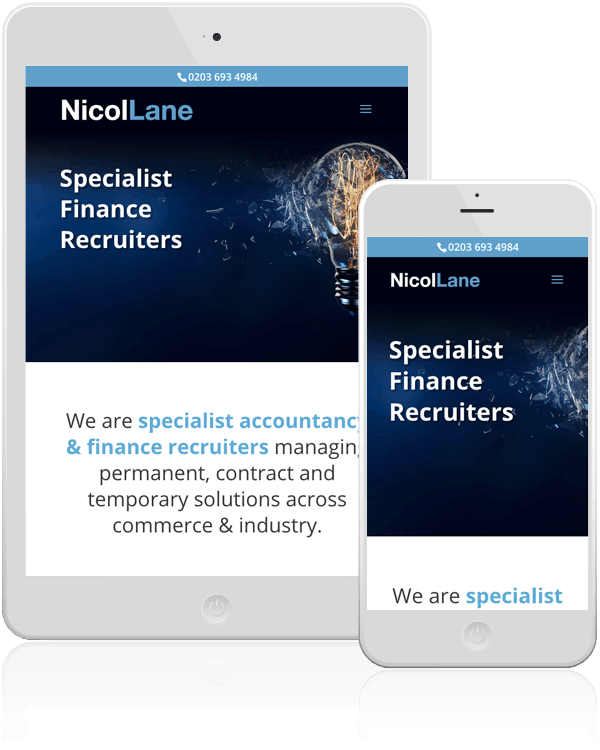 NicolLane WordPress Responsive Website Design Epsom