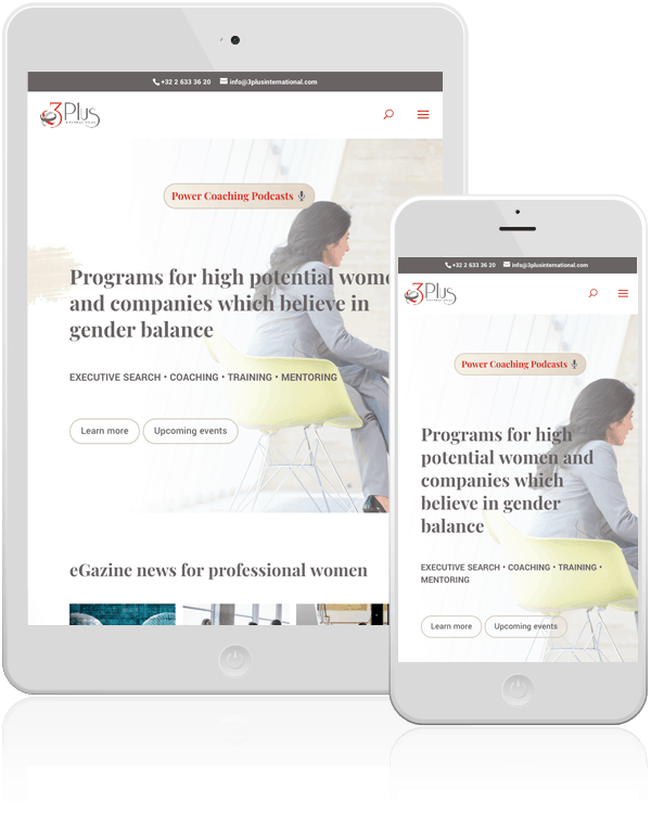 3 Plus International Mobile Web Design & WooCommerce