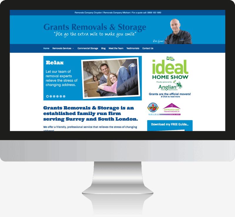 Removal Company Web Design Croydon