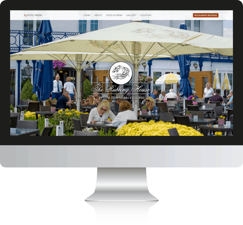 The Rubbing House Pub & Restaurant Web Design