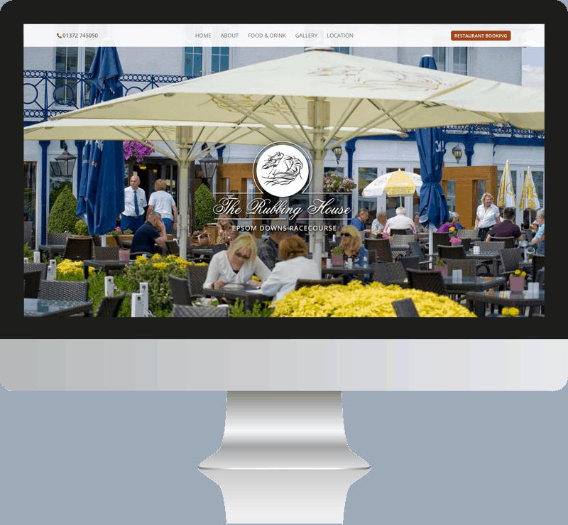 The Rubbing House Pub & Restaurant Web Design