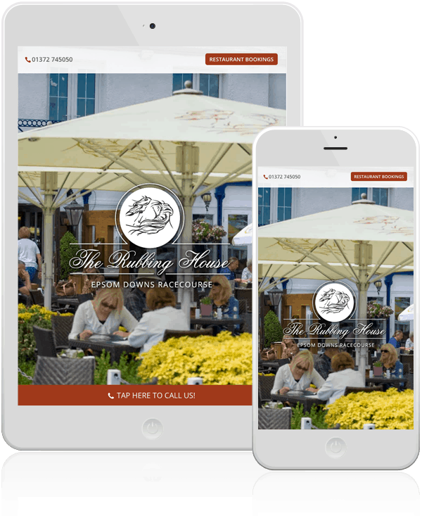 The Rubbing House Responsive Web Design