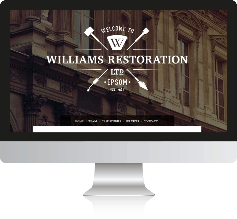 Williams Restoration Web Design