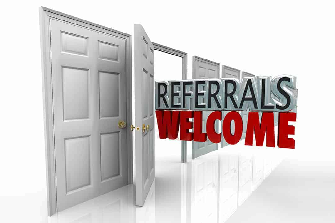 How to get more business referrals in Guildford