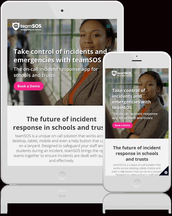 Team SOS Responsive Web Design