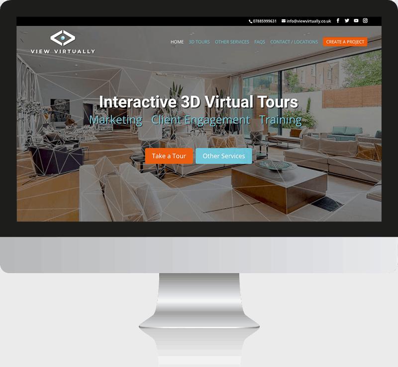 View Virtually WordPress Web design