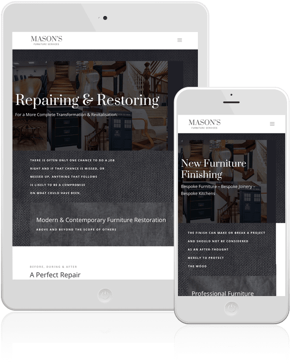 furniture restoration website